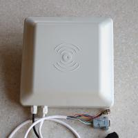 920-925MHz UHF RFID Integrated Reader / Antenna Long Range Card Reader Auto Operation Manufactures
