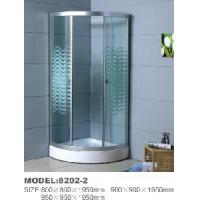 Easy Installation Ordinary Shower Cubicle with Applique Glass 8202-2 Manufactures