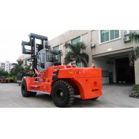 Diesel Engine 40 Ton Forklift , Container Lifting Forklift Customised Color Manufactures