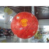 Quality 0.18mm helium PVC Giant Neptune  Inflatable Helium Balloons ,Round  shaped For Outdoor Celebration and special events for sale