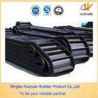 Big Angle Pattern Rubber Conveyor Belt used in the vertical condition Manufactures