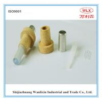 China supply B type disposable thermocouple with (round contact) used for temeprature meas Manufactures