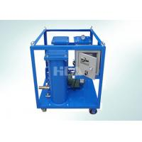 Triple Stage Filtering Portable Oil Purifier Machine With Electric Control Box Manufactures