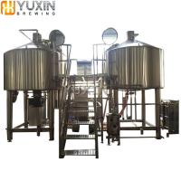 Electric heated Brewhouse 200L Stainless Steel Beer brewing equipment Manufactures
