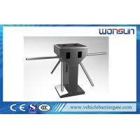 Full - auto / Semi - auto Vertical Turnstile Entry Systems With Double Motor Manufactures