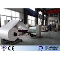 High Efficiency Foam Sheet Making Machine With GPPS Raw Material 22*4.0*2.8m Manufactures