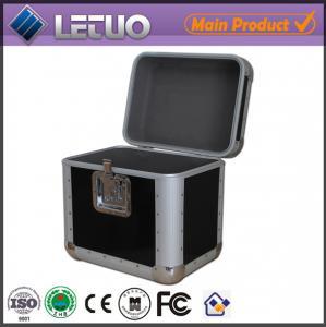 Aluminum china wholesale dvd case heavy duty flight case To Fit 100 CD