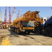 China QY70K Used Crane For Sale in Shanghai , 70 Ton Big Front Cabin Fully Hydraulic Truck Crane on sale