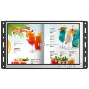 China AC 110V - 240V POP Digital Signage Plastic Frameless LCD Display 7 Inch on sale