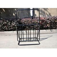 Floor Motorcycle / Electric Bicycle Display Stand Rack For Park Manufactures