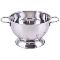 China Stainless steel colander SHXM1026FS-1PCS,mirror polishing,Stainless steel #202,#304 0.6mm on sale