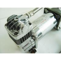 Chrome Airbag Air Ride Suspension Compressor 150psi 2.18CFM , 12v Car Air Compressor Manufactures