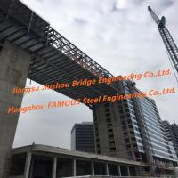 China Residential Structural Steel Frame Construction Between Urban High Rise Buildings on sale