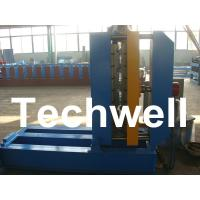 0.3 - 0.8mm Material Thickness Roof Sheet Crimped Curving Machine With PLC Control System Manufactures