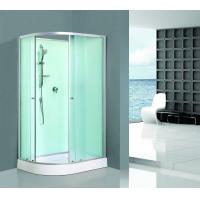 Custom Made Aluminum Framed Shower Enclosure Interchangeable Sandblasted Manufactures