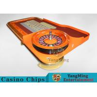 Casino Dedicated Luxury Roulette Poker Table Solid wood + High-Grade Soft Bag Armrest Manufactures