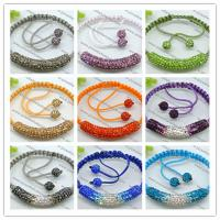 Multi Coloured Unisex Shamballa Beaded Bracelets Available in 20 Colours 2760039-35 Manufactures