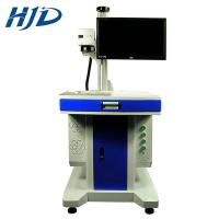 Metal And Plastic Laser Marking Machine With Stainless Steel Engraving Pulse Manufactures
