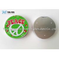Custom Professional Pocket Makeup Mirror Promotional Handbag Compact Mirror for sale