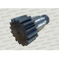 Komatsu PC200-7 Excavator Slewing Large Vertical Gear Shaft With Steel Material Manufactures