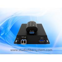 1Port compact USB3.0 fiber optical extender for 5GB 3.0 usb over 1 sm/mm fiber to 250M Manufactures