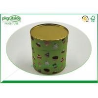 Gift Cardboard Tube Containers , Elegant Design Paper Cylinder Packaging Manufactures