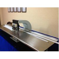 China 60W V Cut Pcb Depaneling Machine Web Guide Up And Down 2 Circular Blades on sale