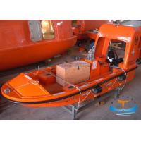 High Speed Lifeboat Rescue Boat With SOLAS Approval Reinforced Plastic Material Manufactures
