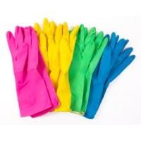 Odourless Colored Hand Protection Gloves Anti - Slip Abrasion Resistant Manufactures