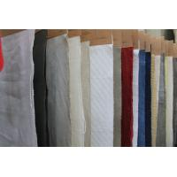 Breathable Organic Cotton and Linen Mix Fabric , Washed Upholstery Cloth 20Ne * 20Ne Manufactures