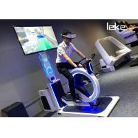 OEM / ODM Virtual Reality Mountain Biking , Virtual Bike Ride Exercise Bike Manufactures