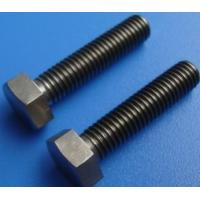 China Low Density and High Specification Strength OF GR5 /GR2 Titanium bolts and titanium nuts din 934 on sale