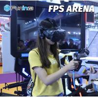 Sheet Metal FPS Arena 9D Virtual Reality Simulator For Middle Age And Family Manufactures