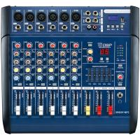 6 Channel Professional Audio Mixer for stage XR600F-MP3 , DJ Power Mixer Manufactures