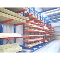 Adjustable Medium Duty Cantilever Storage Racks For Pipe / Timber Storage Manufactures