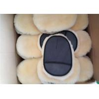 Sheepskin Car Wash Mitt Single Side Lambs Wool Car Detailing Polishing Glove Manufactures