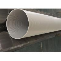 Anti - Static Oriented Smoking Air Duct Tubing Universal Shaped Exhaust Duct Manufactures