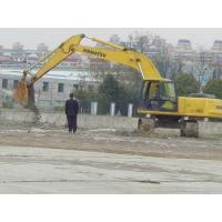 Water Cooling Used Komatsu Hydraulic Excavator600mm Shoe Size With 6 Cylinders Manufactures
