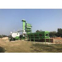 China Compact Structure 80t/H Mini Mobile Asphalt Mixing Plant For Highway on sale