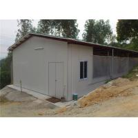 China Mobile Portable Steel Chicken Houses / Metal Farm Sheds With Permanent Foundation on sale