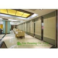 China Soft Fabric Finished Movable Partition Wall For Dinning Hall, Good Sound Insulation on sale