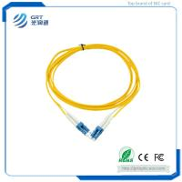 Durable low insertion loss 3m duplex LC-LC connector 10Gb SM fiber optic Patch Cable with SEIKO plug Manufactures