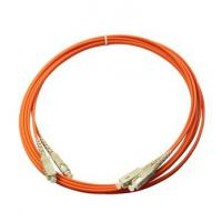 China Multimode orange color PVC out  jacket  Good Repeatability Fibre Optic Patch Cable on sale