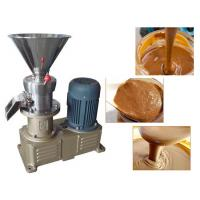 China Almond Butter Cashew Nut Butter Jam Peanut Butter Making Machine Production Line Colloid Mill wholesale
