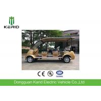 4kW Electric Sightseeing Car Max Speed 30km Suits For Public Area Transportation Manufactures