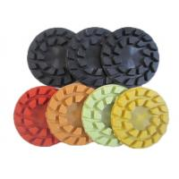 Turbo Type Marble Concrete Floor Polishing Pads 4mm Thickness High Performance Manufactures