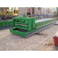 Glazed Tile Machine / Steel Sheet Roll Forming Machine 0.40 - 0.70 Mm Sheet Thickness Manufactures