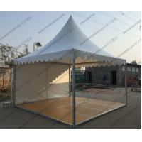 Removable Floor System High Peak Tents White Color Aluminum Frame For Trade Show Manufactures