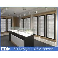Modern Attractitve Showroom Display Cases for Jewellery Showroom Pre - Assembly Manufactures