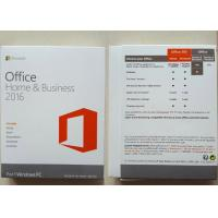 PKC 1 Mac Software Key Code , Microsoft Office Home / Business 2016 Manufactures